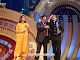 Former co-stars and good friends Neetu Singh, Rishi Kapoor and Jeetendra on stage