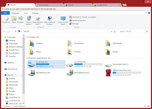 Windows Explorer with Multiple Tabs