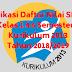 Aplikasi Daftar Nilai SD/MI Kelas 1 4 6 Semester 1 Kurikulum 2013 Tahun 2018/2019 - Ruang Lingkup Guru