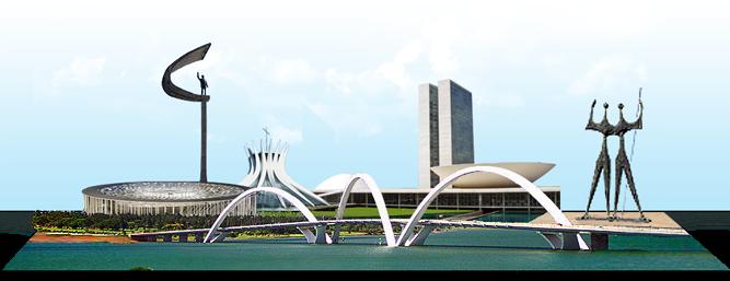 Monumentos de Brasília - DF