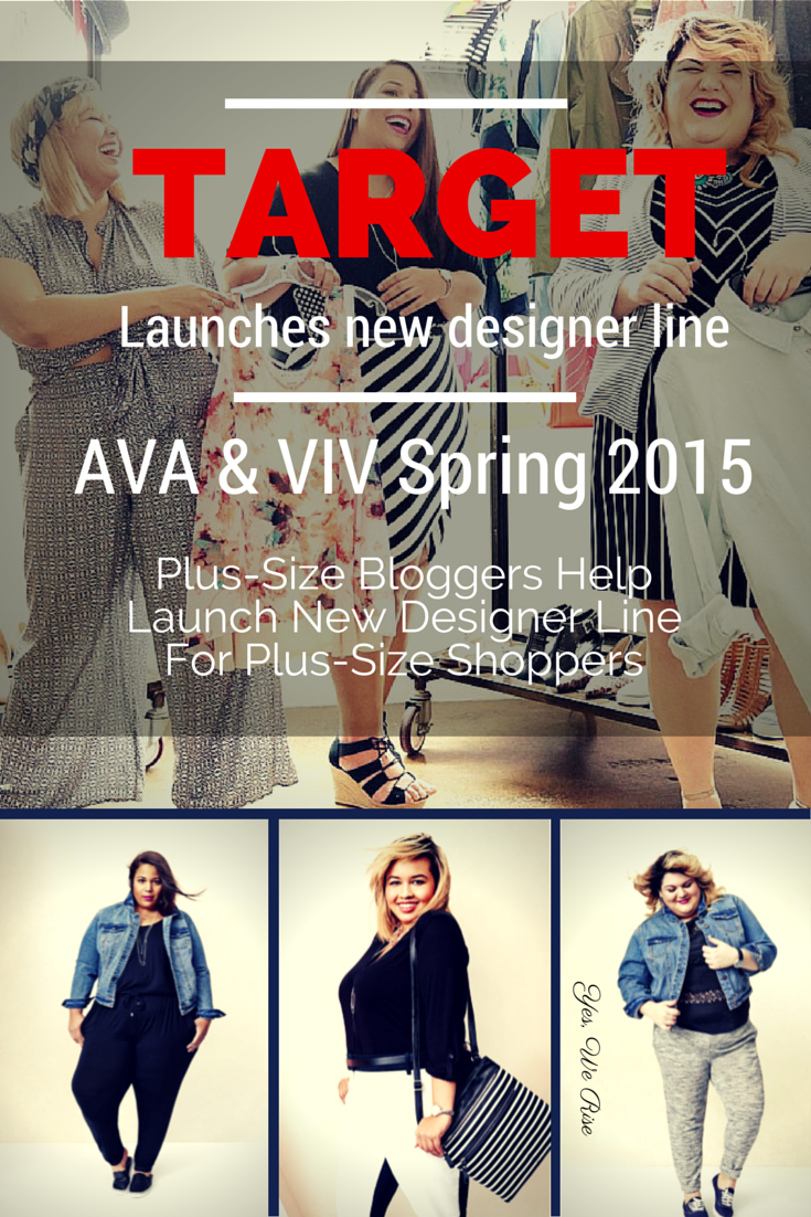 1622f3a1e54 Target launches another designer line. This time for plus-size shoppers.  And they use plus-size fashion bloggers to model the clothing.
