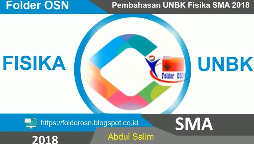 UNBK sma 2018