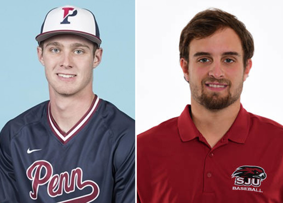 Adams and Aungst named players of the week