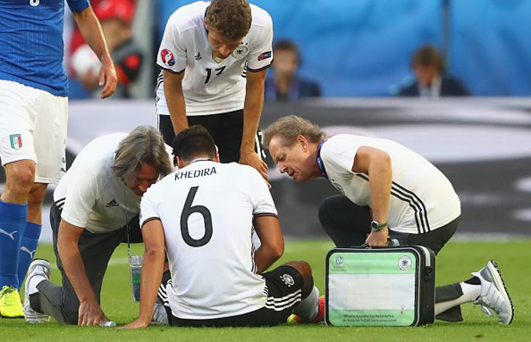Euro 2016 okončano za Samia Khediru