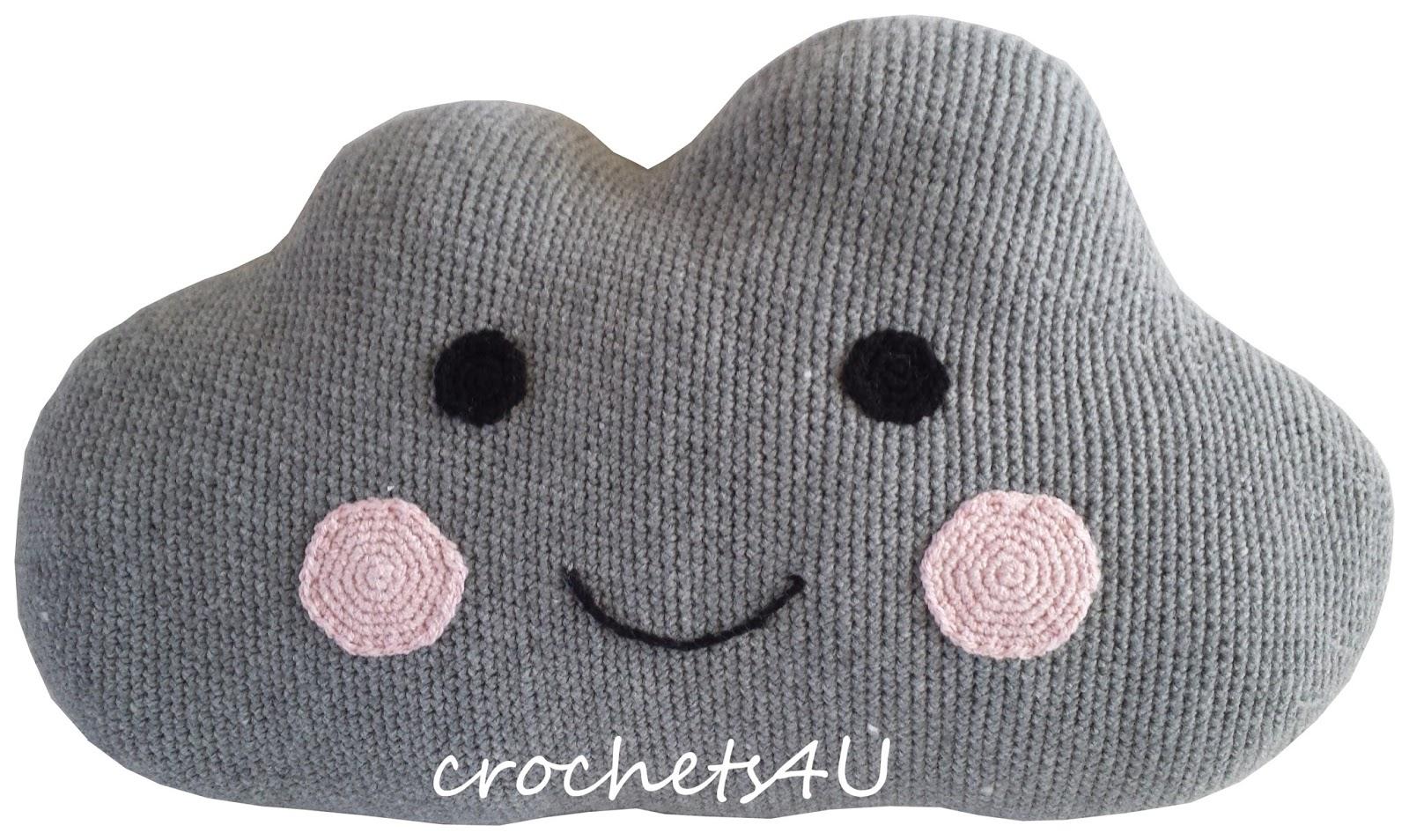 Crochets4u Kleine Wolk Haken