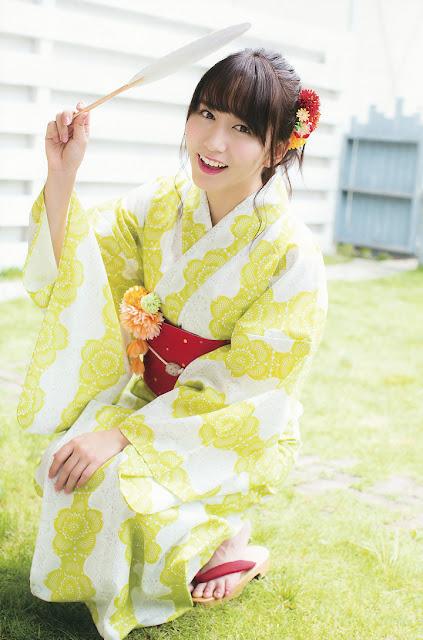 Oba Mina Gravure SKE48 Young Gangan 1502