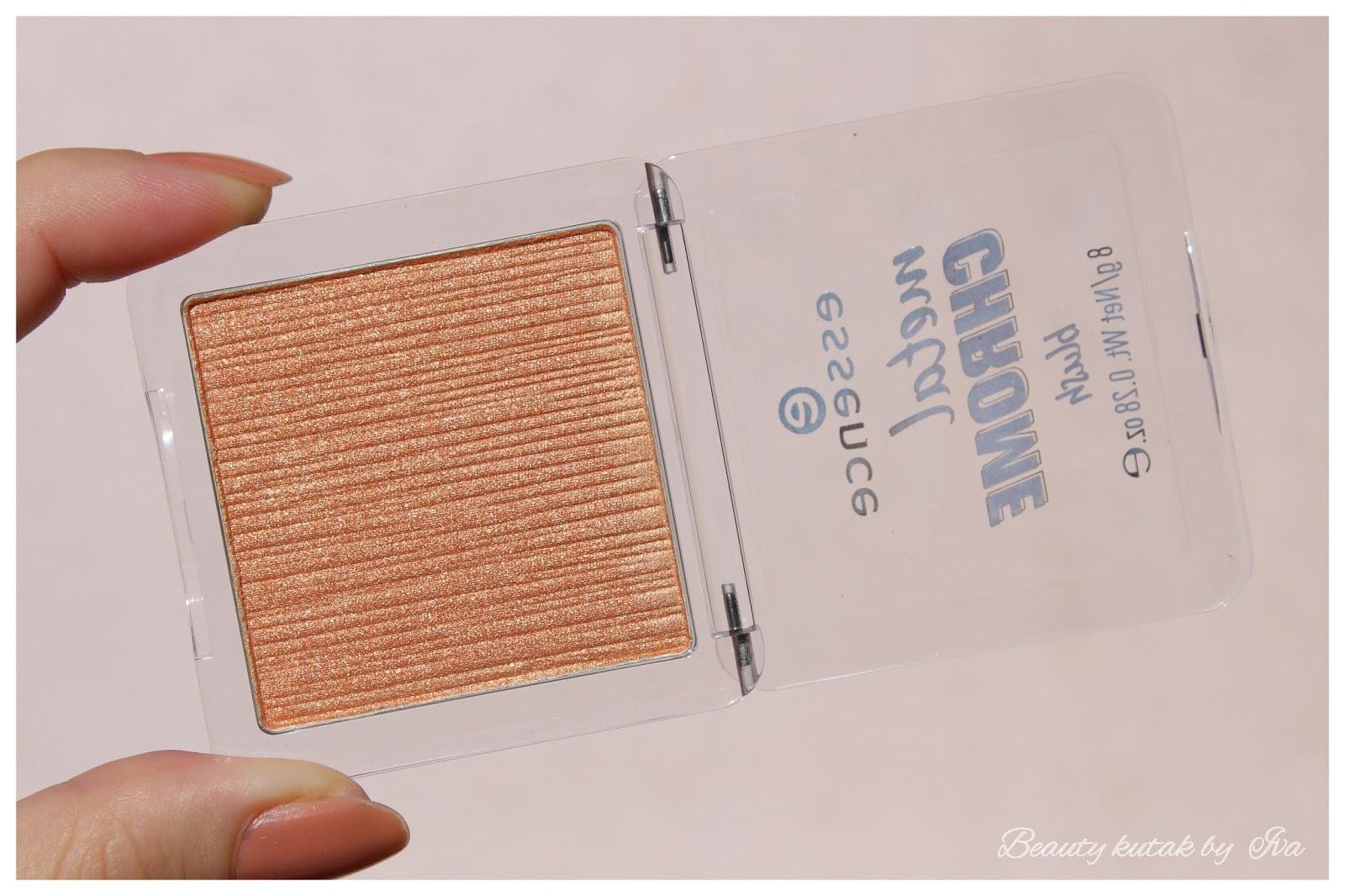 Beauty kutak by Iva: #RECENZIJA: Essence Metal Chrome Blush