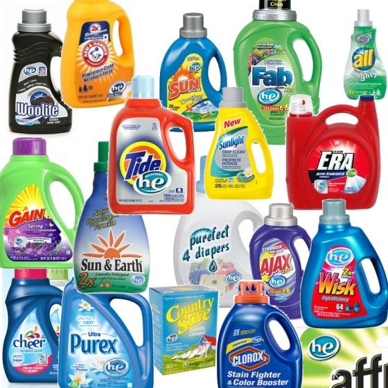 Amerikanisches Waschmittel