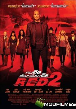 Capa do Filme Red 2: Aposentados e Ainda Mais Perigosos