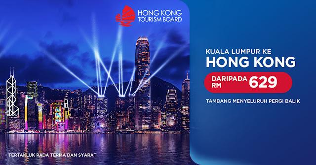 Terbang Ke Hong Kong Bersama Malaysia Airlines, Tambang Serendah RM629 'All-In'