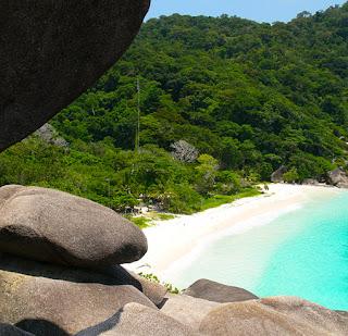 similan island day tour beach