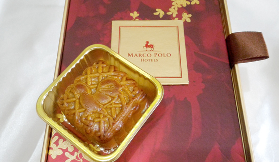 Custom-crafted Marco Polo Mooncake