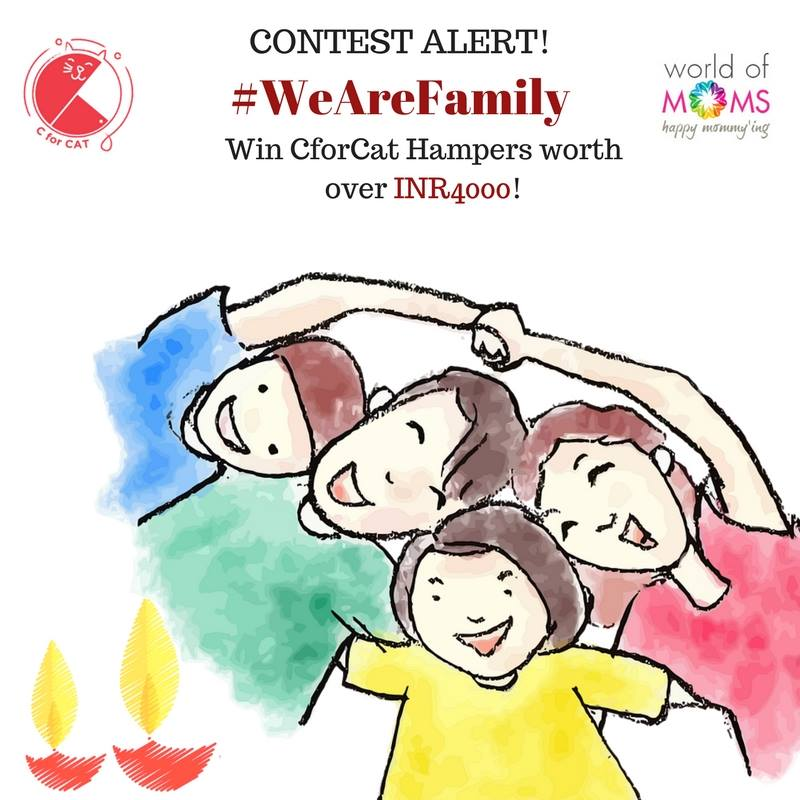 We are Family Diwali Contest for childeren
