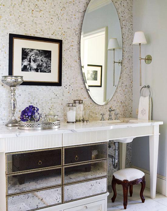a beautiful life : bathroom vanity decorating ideas tips