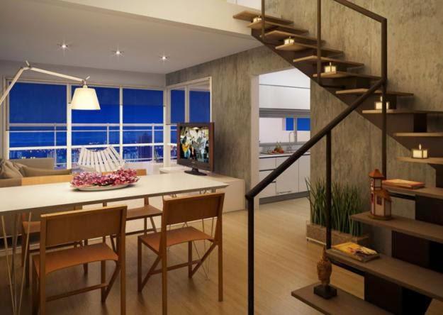 Decora interi decora o de apartamentos duplex e triplex for Diseno apartamentos duplex pequenos