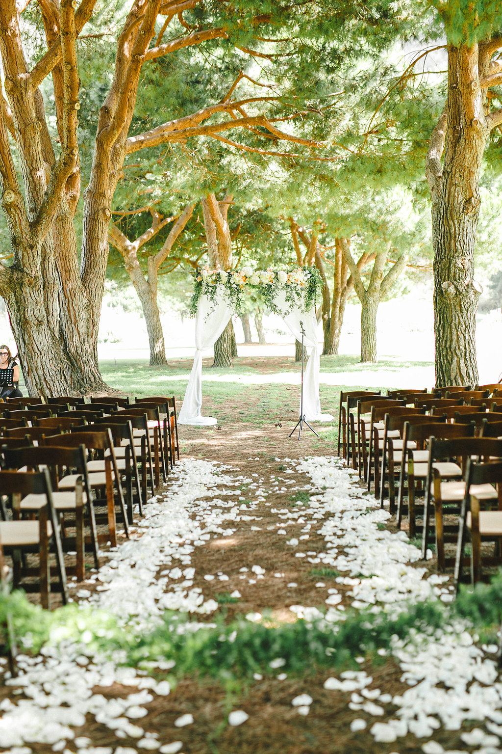 Florals By Jenny Soft Peach and Cream Wedding at The Ranch Laguna Beach August 2015