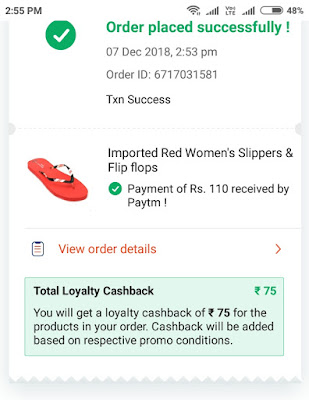 Paytm Free Shopping offer Get 100% caahback -All User Promocode