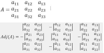 Invers Matriks 3X3 2X2 Soal dan Pembahasan