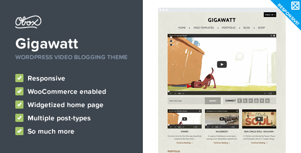 Download Premium WordPress Video Theme