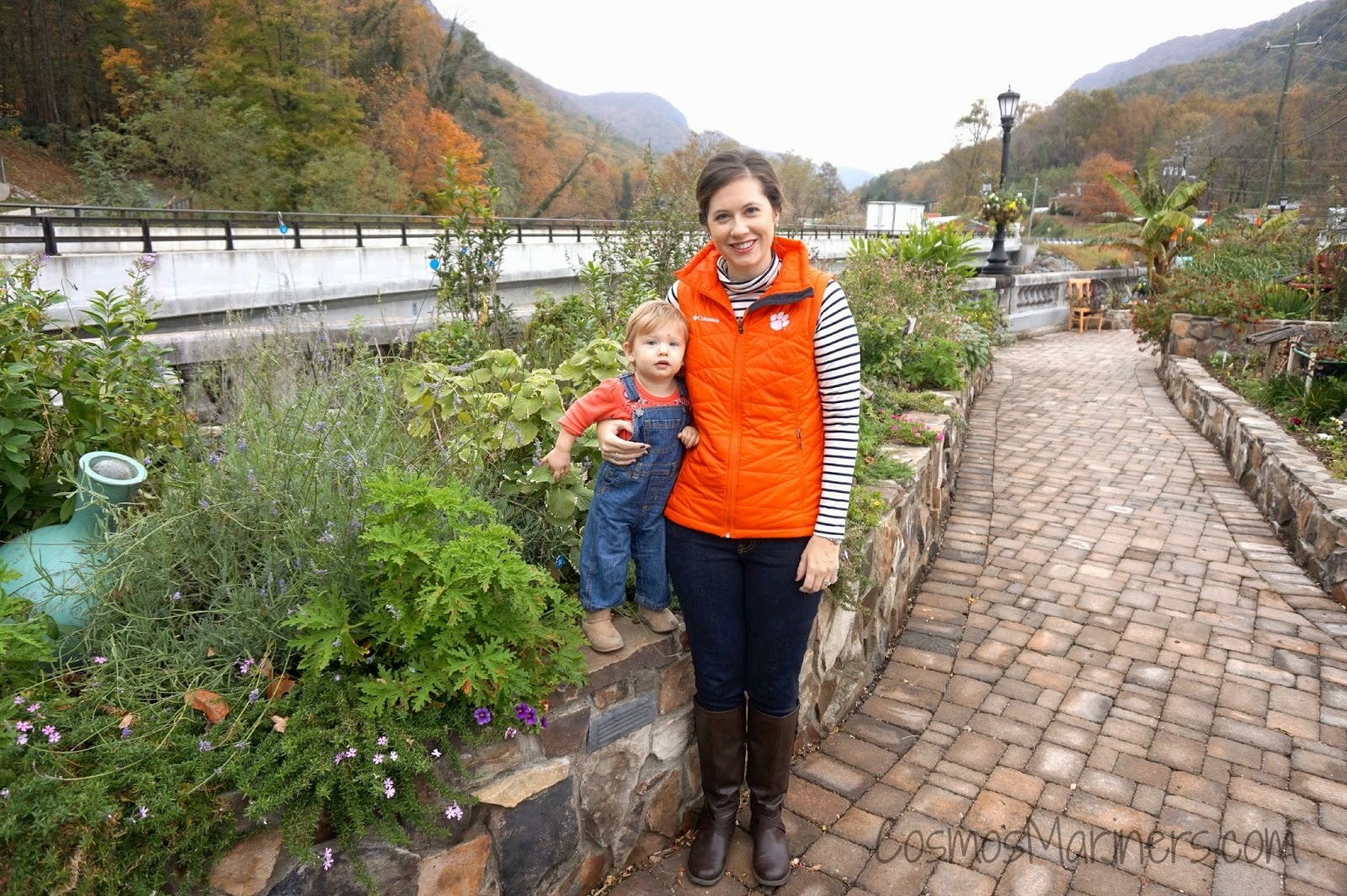 Things to Do in the North Carolina Mountains: the Lake Lure Flowering Bridge | CosmosMariners.com