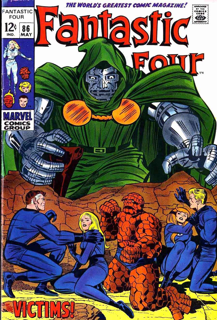 Marvel Comic Book Cover Art : Fantastic four jack kirby art cover pencil ink