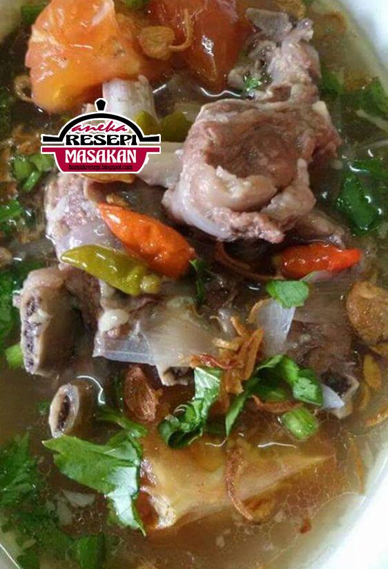 Resepi Sup Tulang Ala Thai Sbs Aneka Resepi Masakan