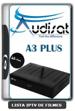 Audisat A3 Plus Nova Atualização Correção do YouTube e Melhorias No SKS e IKS V1.4.07 - 29/02/2020