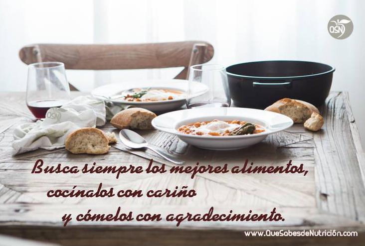 QSN: Los mejores alimentos