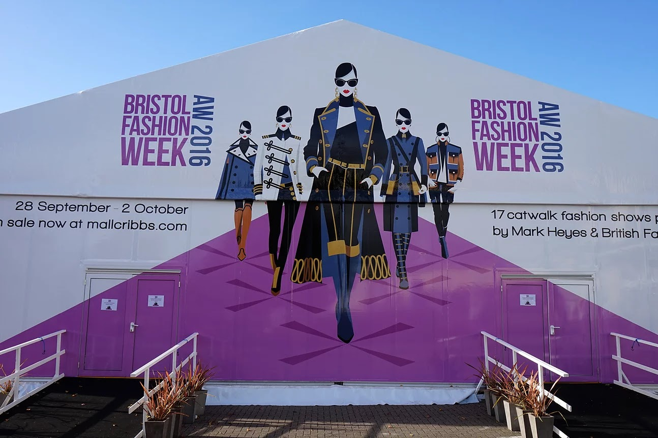 Bristol Fashion Week AW16 building logo