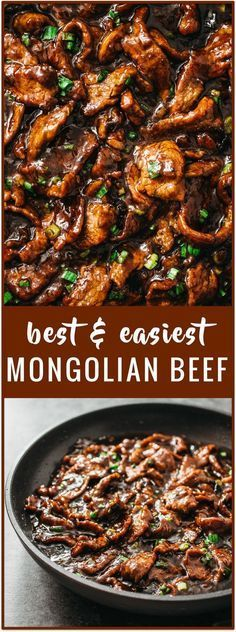 Mongolian Beef Recipe (PF Changs Style)