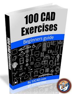 100 Cad Exercises - تعلم الاوتوكاد pdf