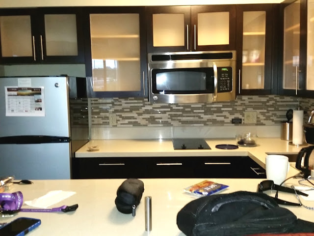 Kitchen at the StayBridge Suites in Bowling Green ky-CarmaPoodale