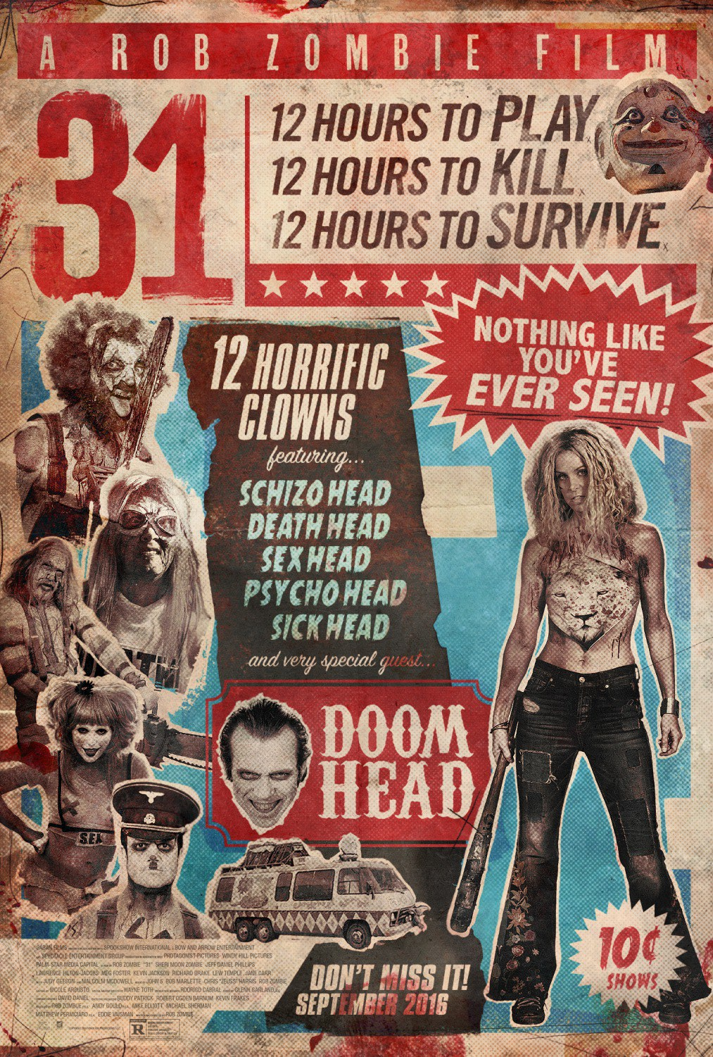 The Horrors of Halloween Rob Zombie39s 31 Second Trailer