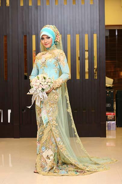 Pernikahan Impian Model Baju Pengantin Muslimah Modern 2012