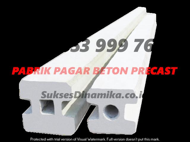 Harga Pagar Beton Precast Murah Madura, Metode Kerja Pagar Panel Beton