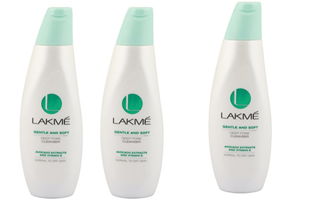 Lakme Gentle and Soft Deep Pore Cleanser: for dry skin