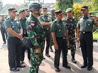 Jelang Operasi Perbatasan, Pangdam Cek Kesiapan Pasukan dan Perlengkapan