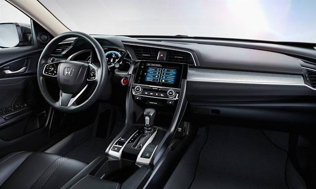 novo Honda Civic 2017 - versão EXL