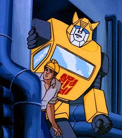 Resultado de imagem para bumblebee transformers animation 80s