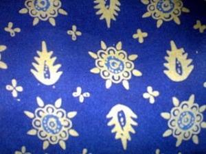 Batik Jambi Motif Tampuk Manggis