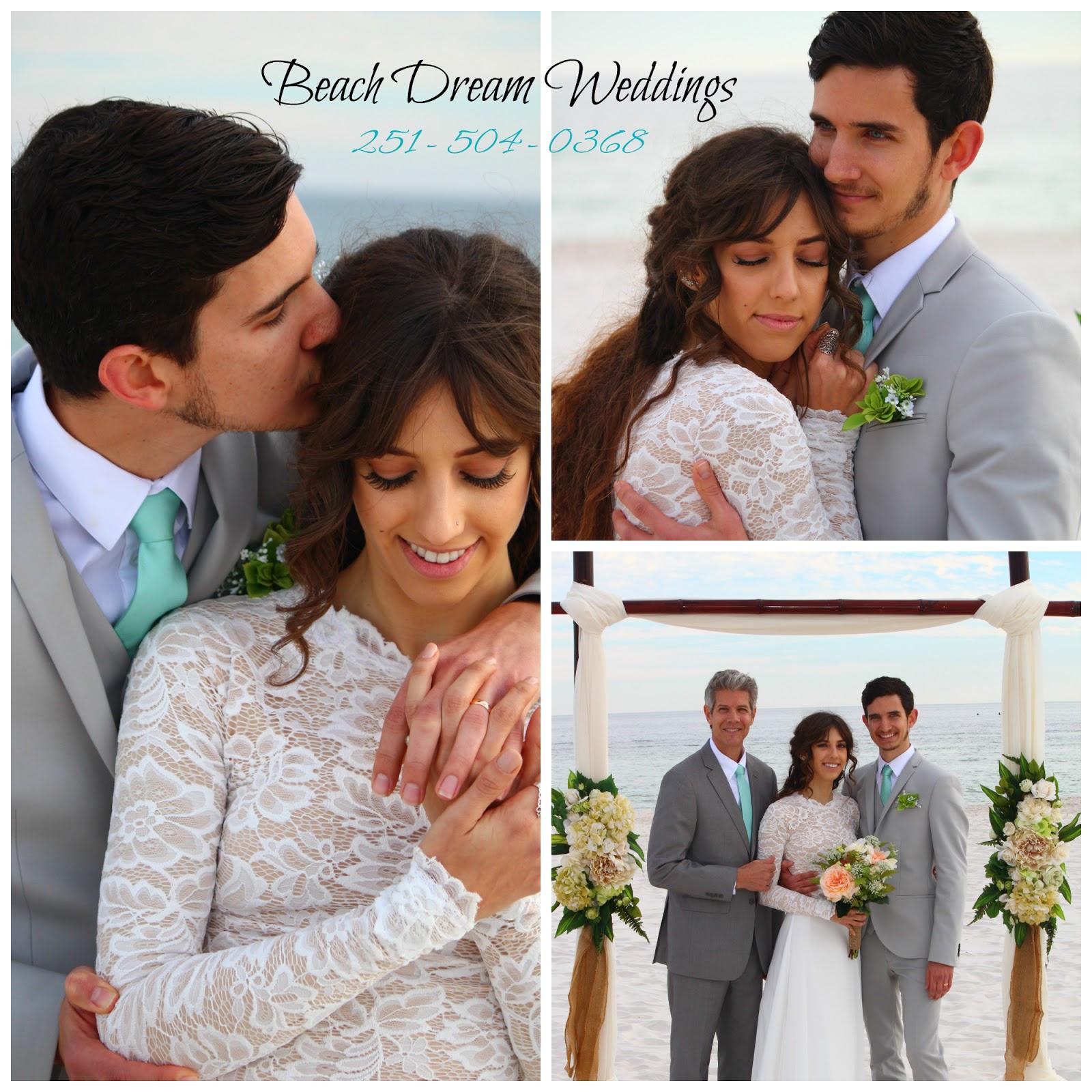 Romantic beach weddings, elopements, vow renewals, and