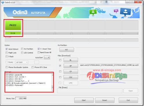 Panduan lengkap : Cara Flashing Samsung Galaxy ACE 3 (GT-s7270)