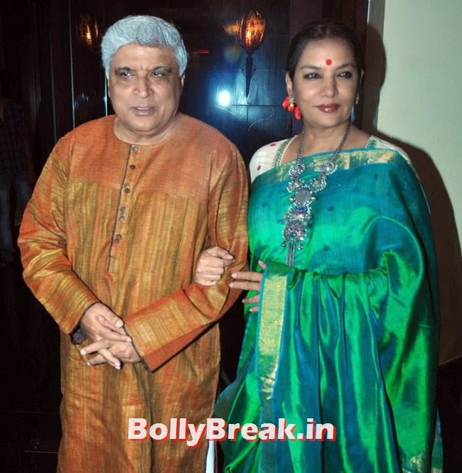 Javed Akhtar and Shabana Azmi, Celebs at Celebrations of Shatrughan Sinha Lok Sabha Election success