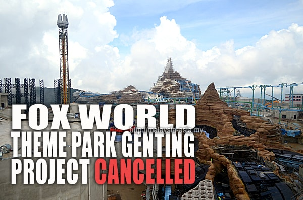 20th Century Fox Theme Park Malaysia Cancelled