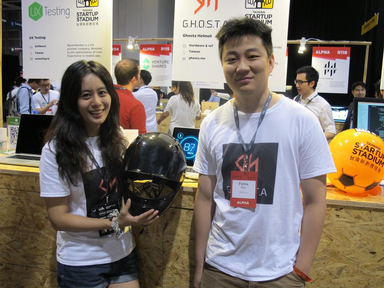 [RISE香港] 勇闖RISE,台灣新創發光(下):GHOSTA、手機醫生