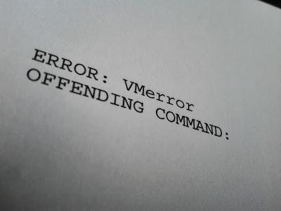 Ошибка на принтерах
