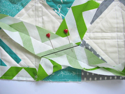 Sew the Binding Ends Together