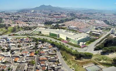 Cantareira Norte Shopping ganha o Oscar da arquitetura corporativa. Imagem: acervo Collaço E. Monteiro Arquitetos Associados