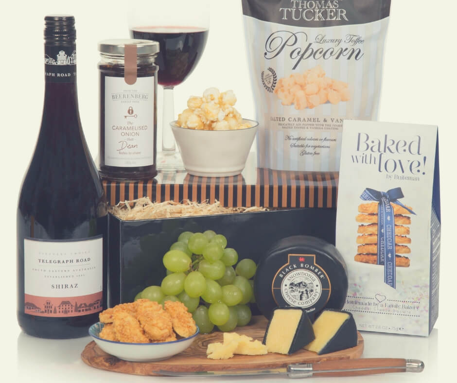 Christmas Gift Ideas For Your Mum And Dad | Give your dad some me time with this hamper for his night in.