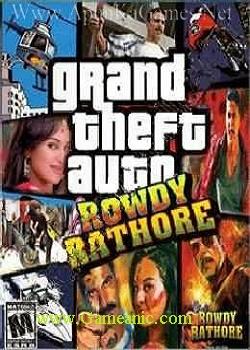 GTA Rowdy Rathore Game Cover